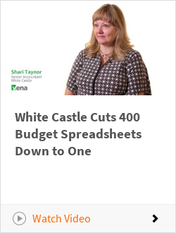 White Castle Cuts 400 Budget Spreadsheets Down to One