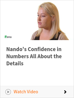 Nando's Confidence in Numbers All About the Details