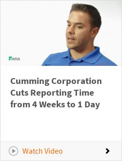 Cumming Corporation Cuts Reporting Time from 4 Weeks to 1 Day