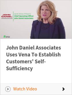John Daniel Associates Uses Vena To Establish Customers' Self-Sufficiency
