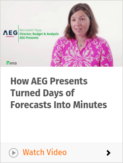 How AEG Presents Turned Days of Forecasts Into Minutes