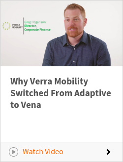 Why Verra Mobility Switched From Adaptive to Vena
