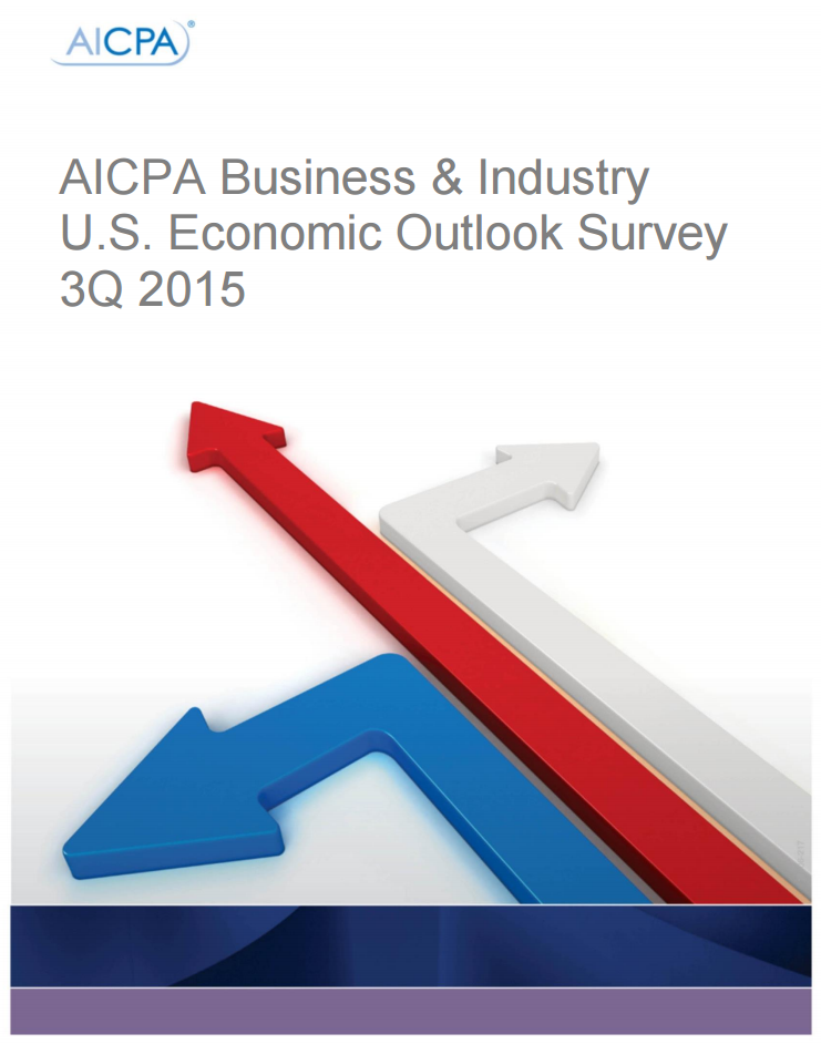 AICPA Business and Industry Survey 2015