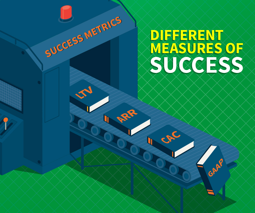 Revenue and SaaS Companies - Different Measurement of Success