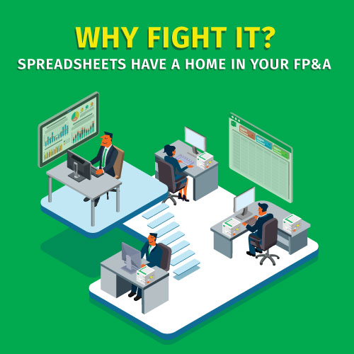 Excel: Why fight it?