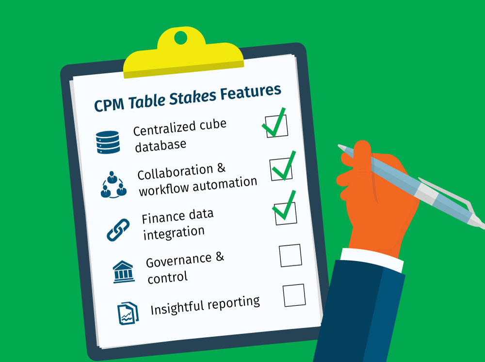 FP&A Software - Essential, Table Stakes Features