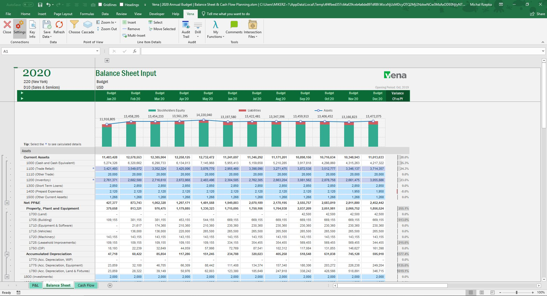 What is Corporate Performance Management? - Excel offers power data visualization