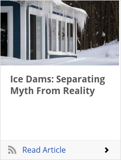 Ice Dams: Separating Myth From Reality