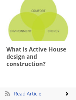 What is Active House design and construction?