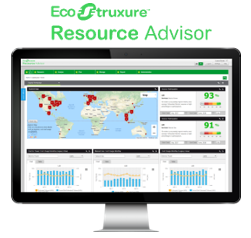 Resource Advisor software on a screen