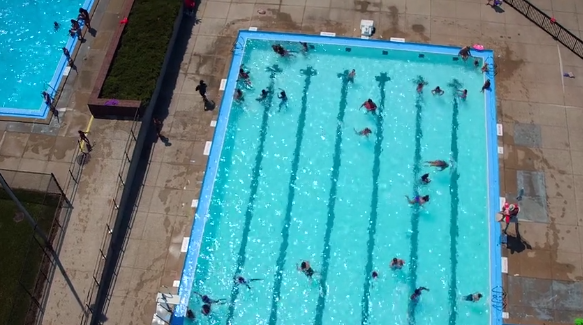City of Holland renovated pool