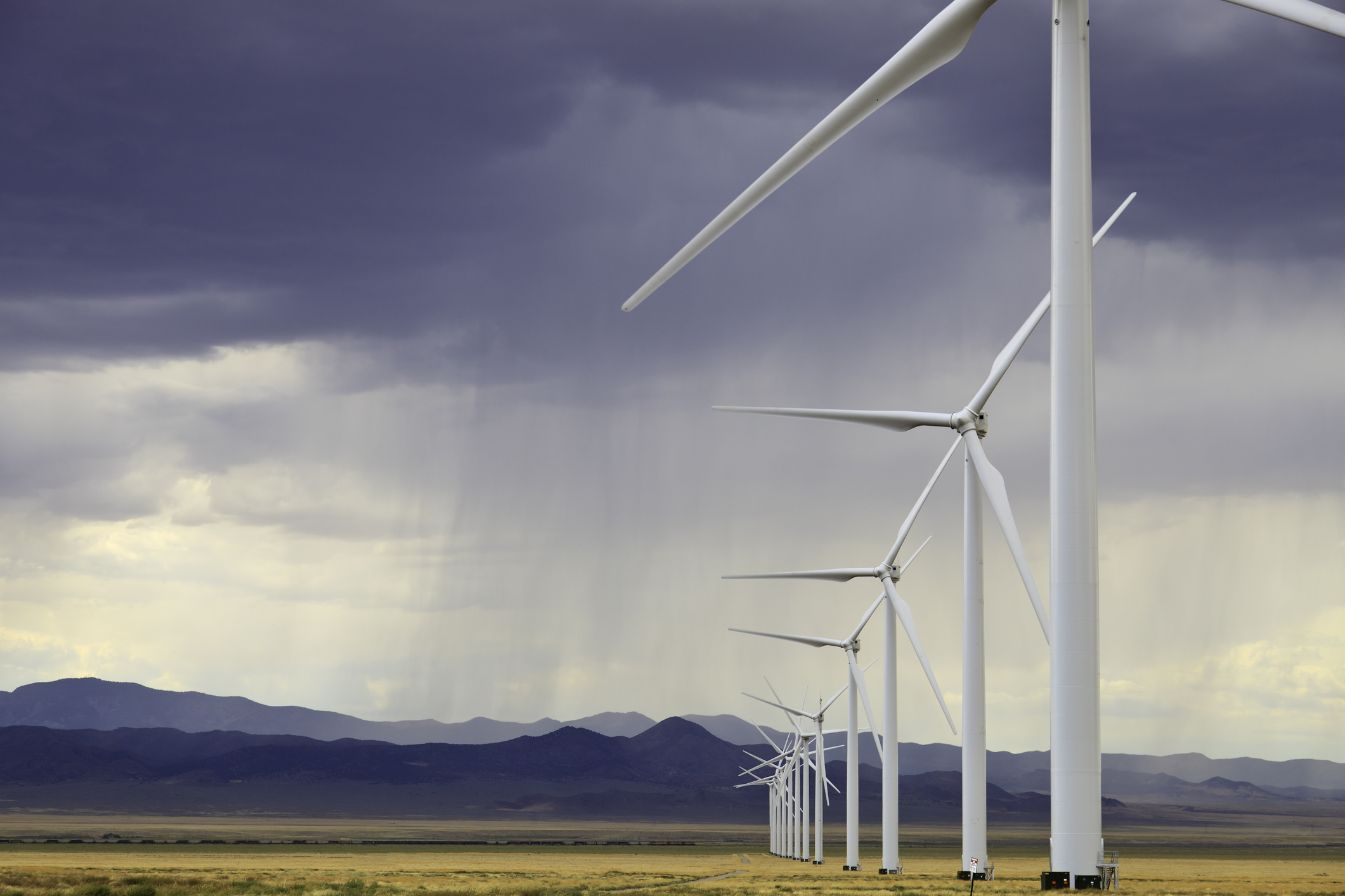 wind turbine manufacturers are working on developing blades that are easier to recycle