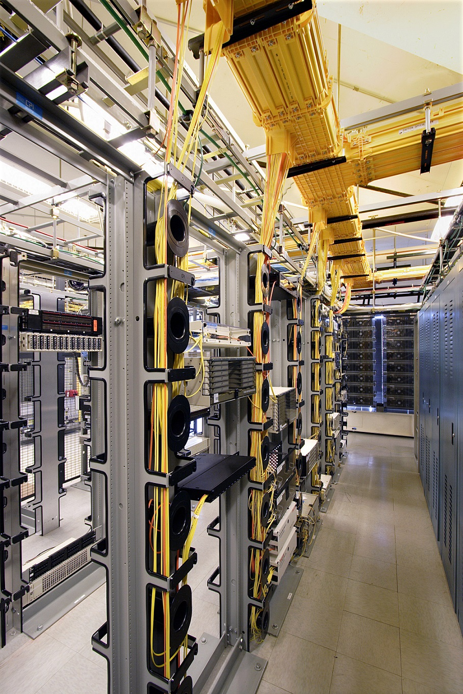inside Digital Realty data center