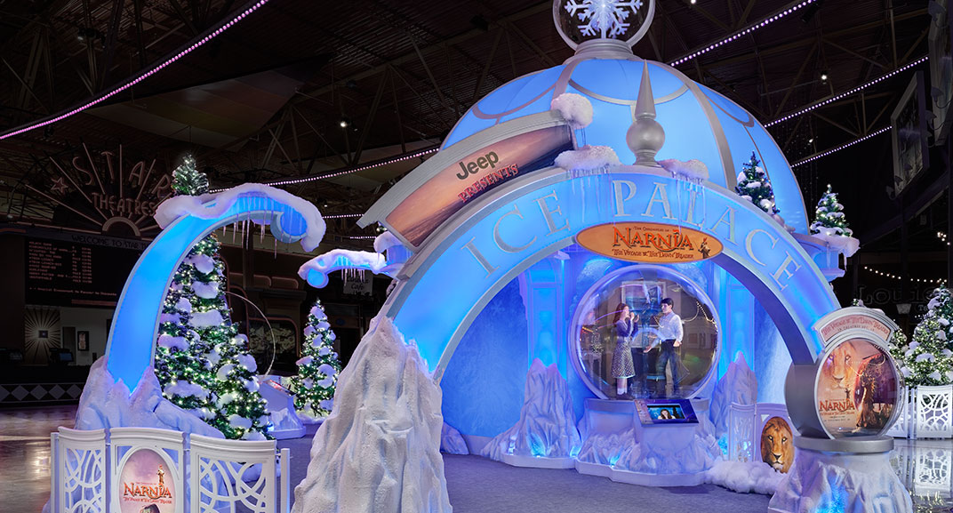 Taubman to celevrate the Holidays with Ice Palace installation