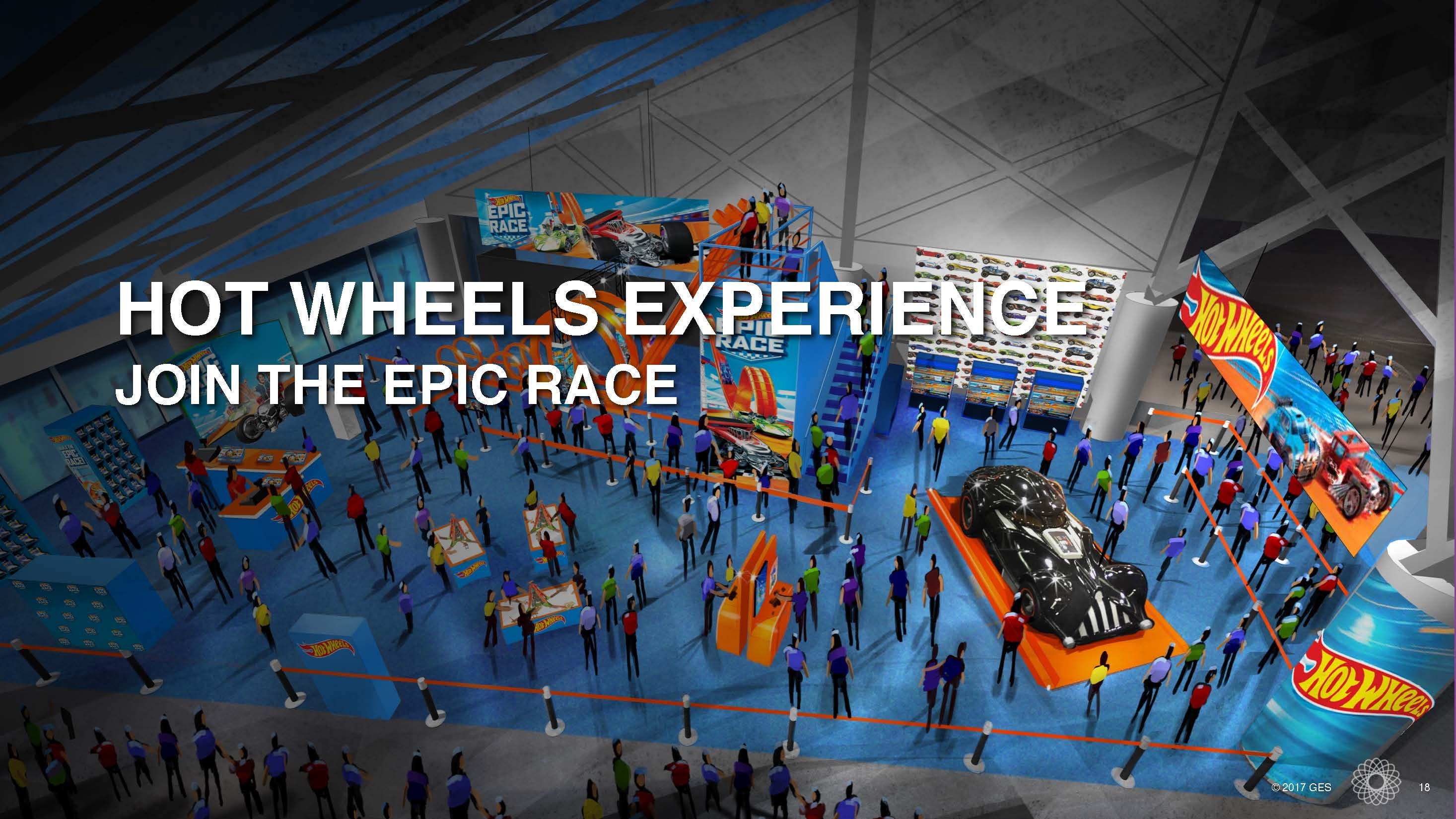 HOT WHEELS EXPERIENCE JOIN THE EPIC RACE