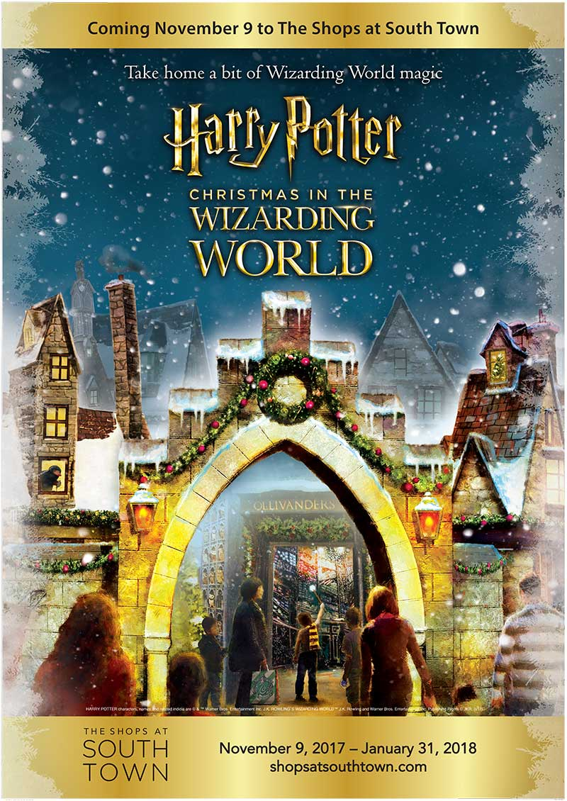 Harry Potter Christmas in the Wizarding World--A Harry Potter themed retail experience