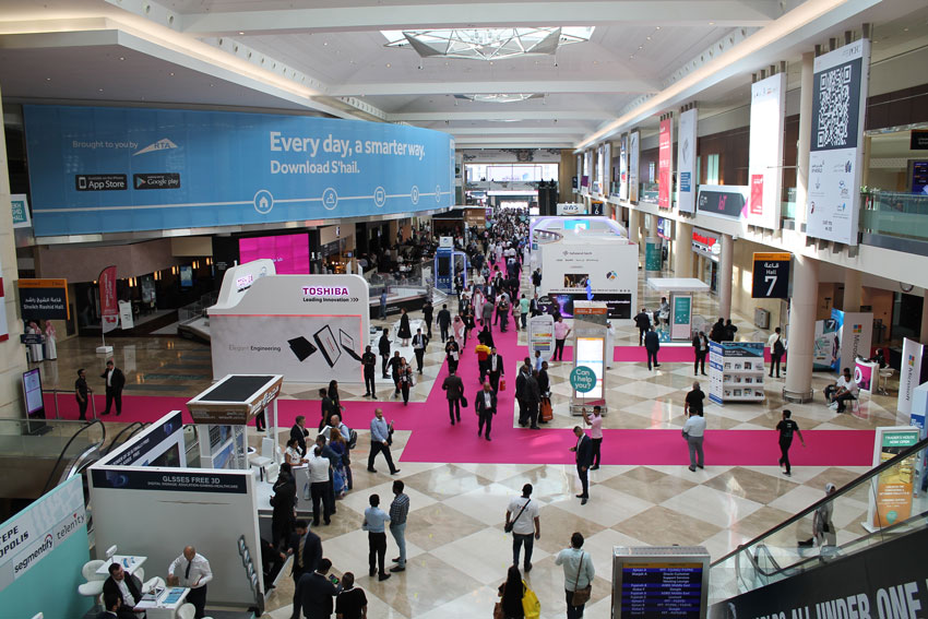 GITEX 2017 is an example of Geo-Cloning localization event