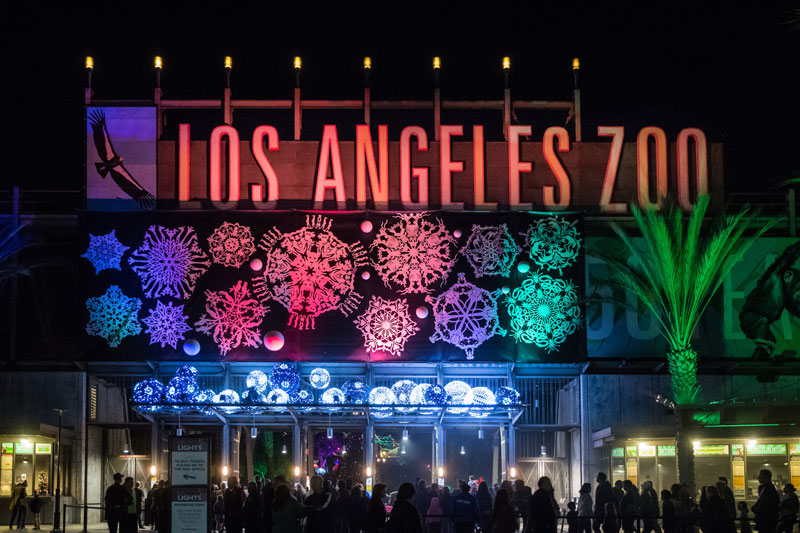Experiential Marketing Brand Activation - Zoo Lights