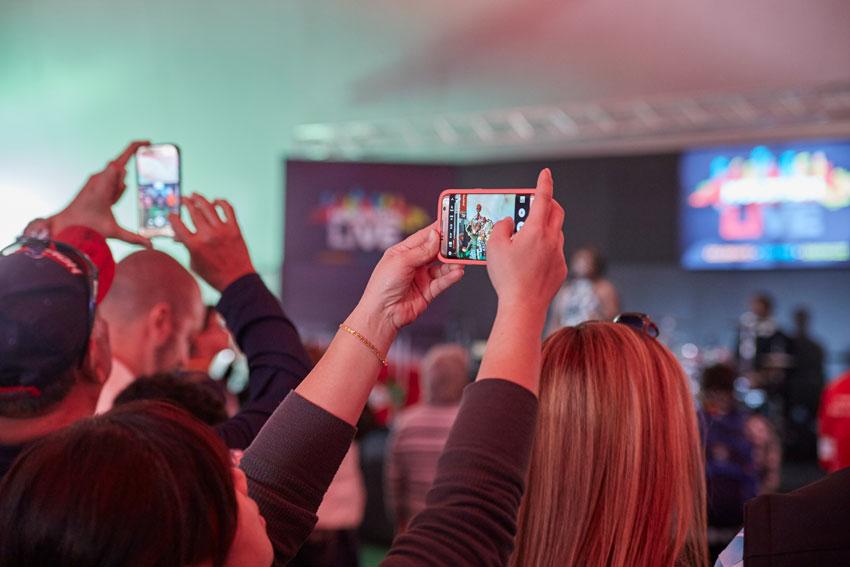 Encourage Audience Engagement | Live Events
