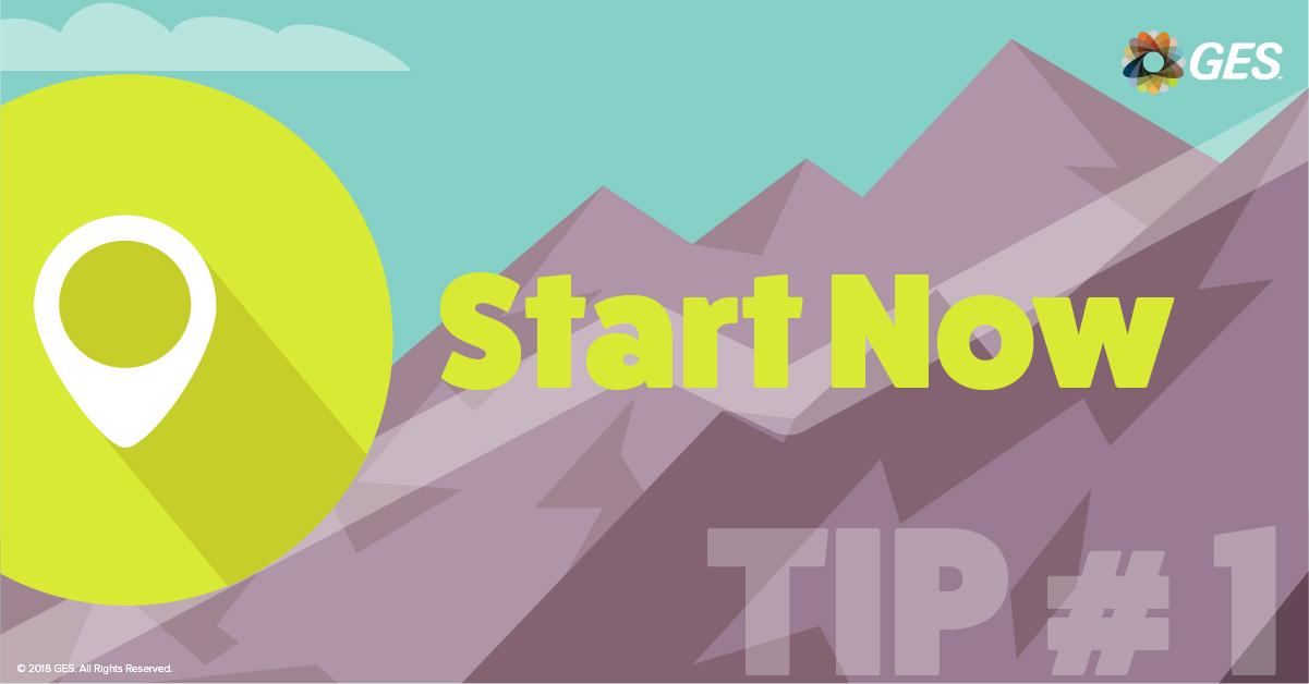 Start Now | Sponsorship Tip #1