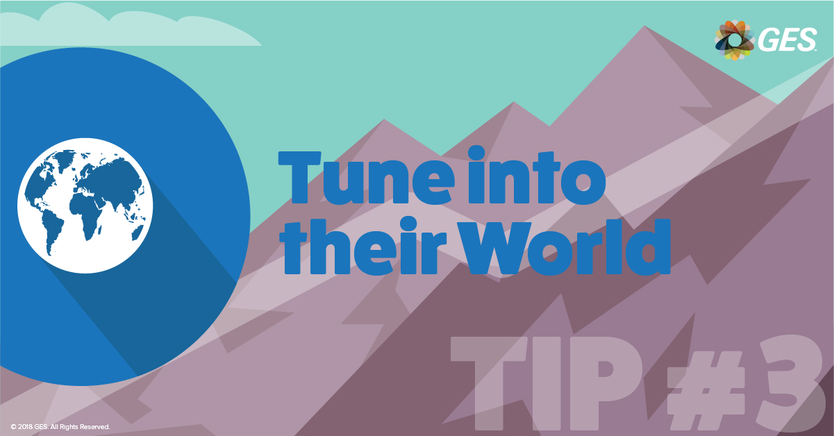 Tune into their World | Sponsorship Tip #3