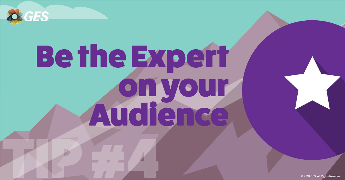Be the Expert on your Audience | Sponsorship Tip #4