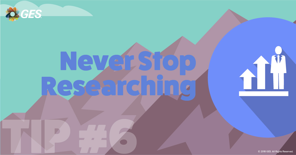 Never Stop Researching | Sponsorship Tip #6