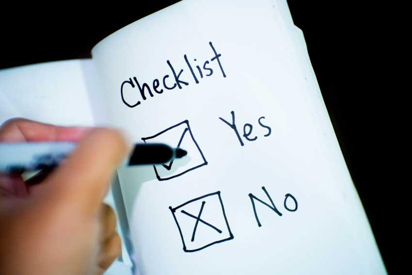 Event sponsorship checklist