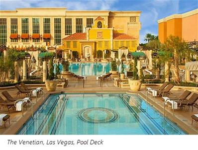 [The Venetian Las Vegas Pool Deck]
