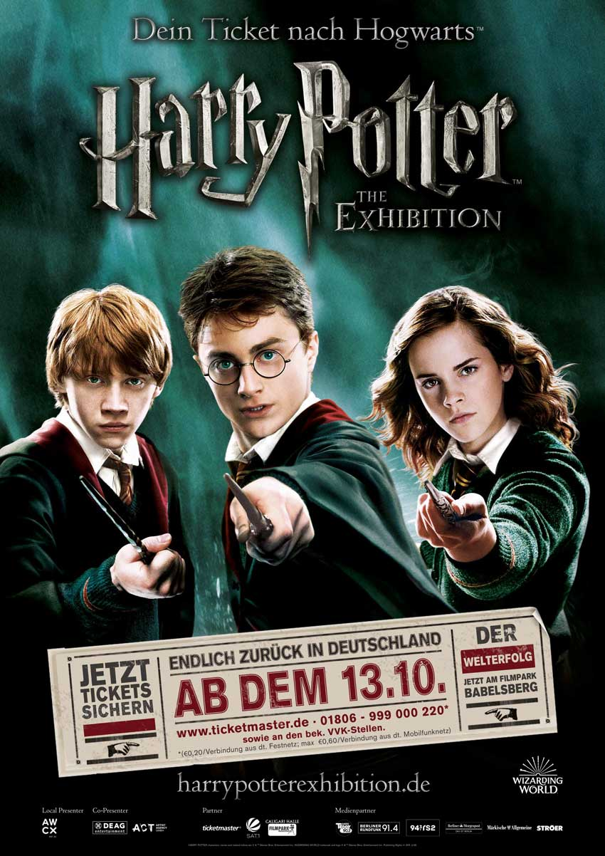 Harry Potter: The Exhibition Returns to Germany
