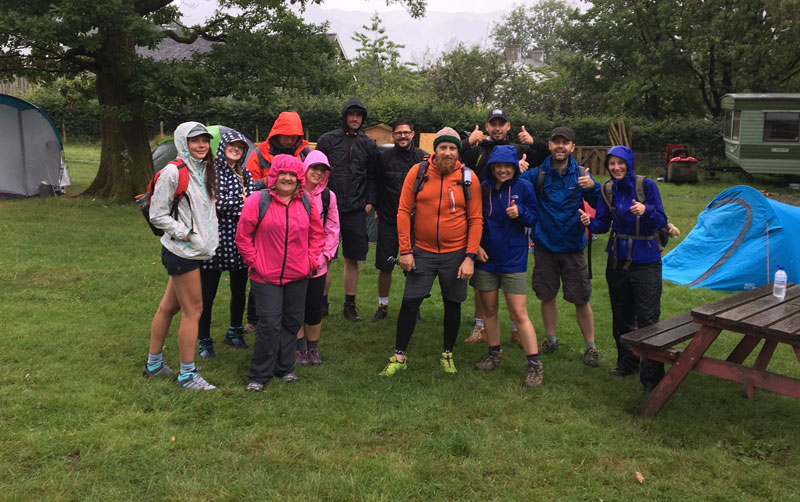 GES team tackled 5 peaks in 5 hours.