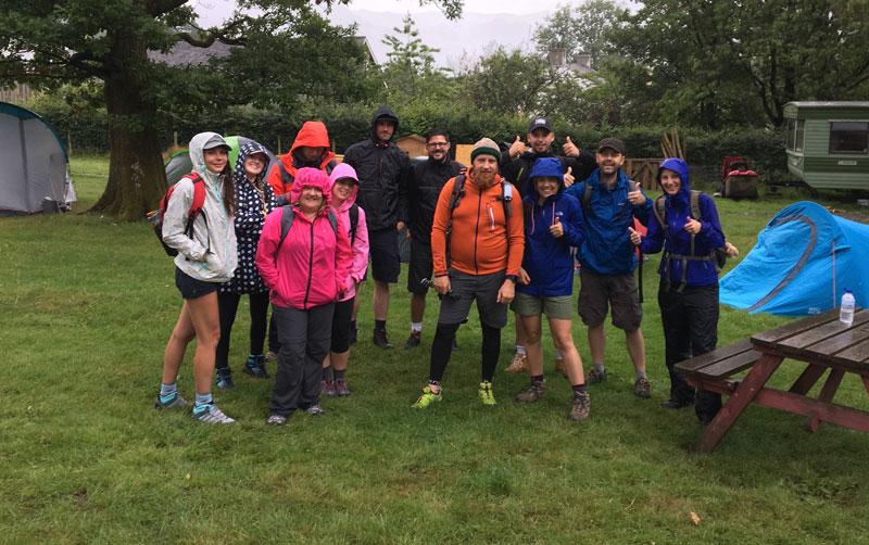 GES team tackled 5 peaks in 5 hours.