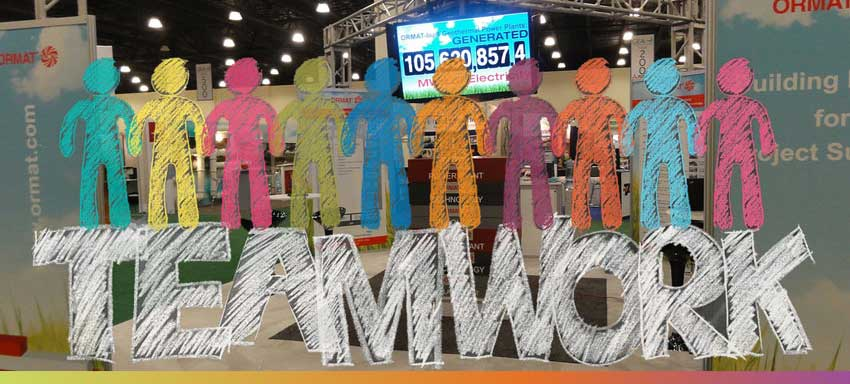 How to build an exhibition stand team that sells
