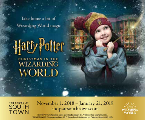 Christmas in the Wizarding World returns to The Shops at South Town in Utah