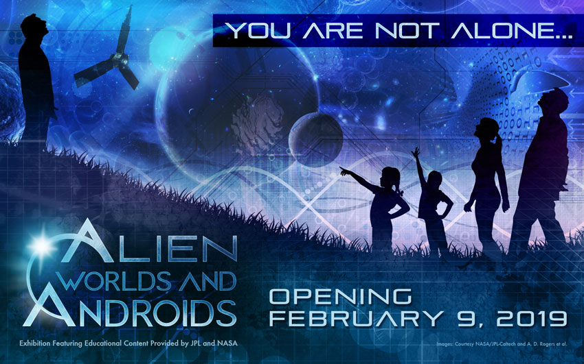 Alien Worlds and Androids, Brings Interactive Space-Like Experiences To Life At DISCOVERY