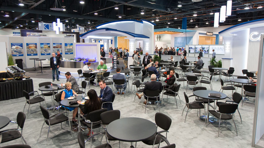 As part of the research process, go to industry trade shows as an attendee