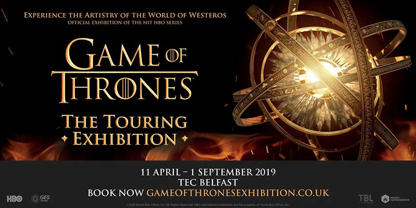 Game of Thrones: The Touring Exhibition is Coming to Belfast