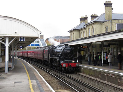 By Rail: Aldershot Train Station