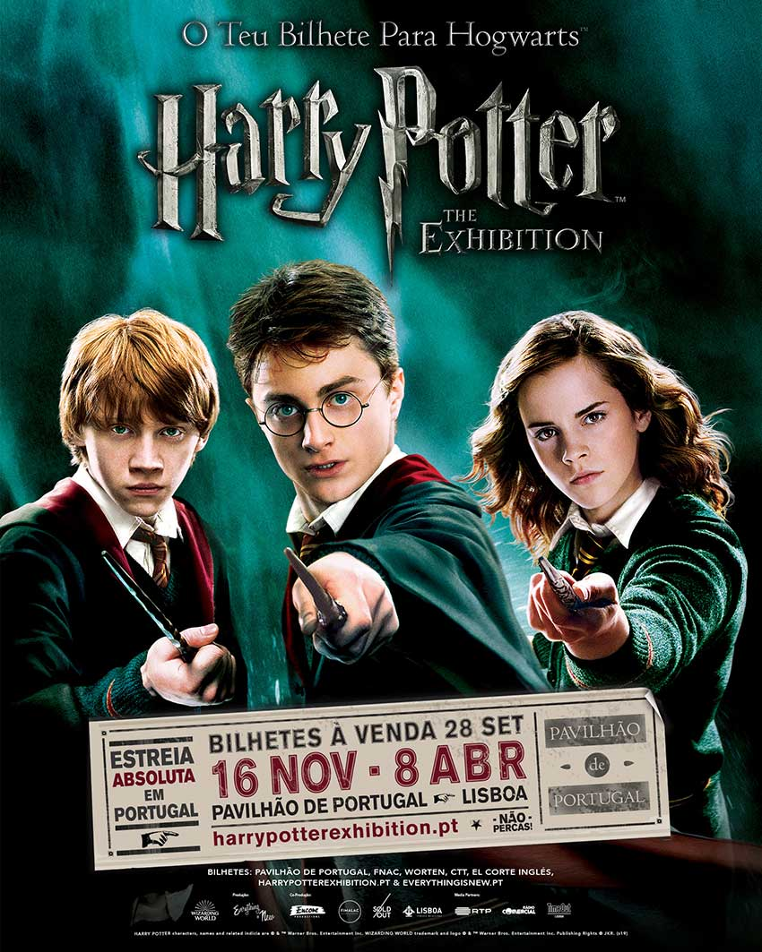 Harry Potter: The Exhibition to Debut in Portugal