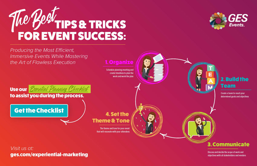 The Best Tips & Tricks for Event Success