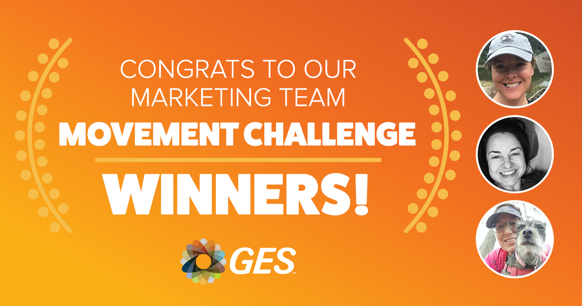 Congrats to Our Marketing Team Movement Challenge Winners!