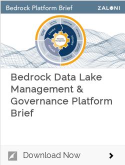 Bedrock Data Lake Management & Governance Platform Brief
