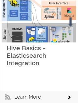 Hive Basics - Elasticsearch Integration