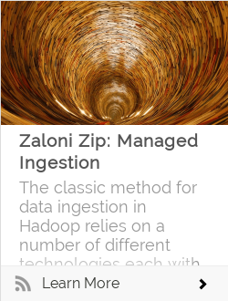Zaloni Zip: Managed Ingestion