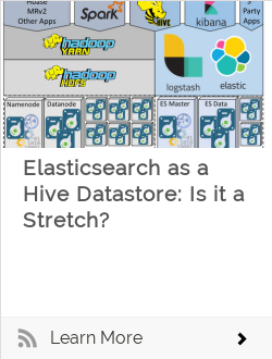 Elasticsearch as a Hive Datastore: Is it a Stretch?