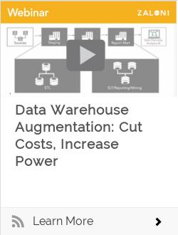 Data Warehouse Augmentation: Cut Costs, Increase Power
