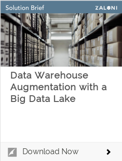 Data Warehouse Augmentation Solution Brief