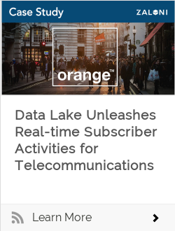 Data Lake Unleashes Real-time Subscriber Activities for Telecommunications