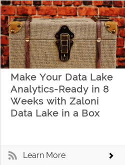 Make Your Data Lake Analytics-ready in 8 Weeks with Turnkey Zaloni Data Lake in a Box