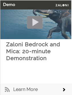 Zaloni Bedrock and Mica: 20-minute Demonstration